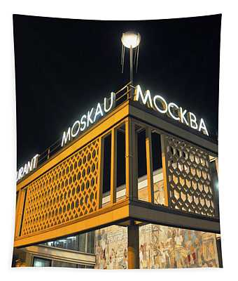 East Berlin Sound Of Cafe Moscow Tapestry