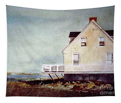East Of Newberry Port Tapestry