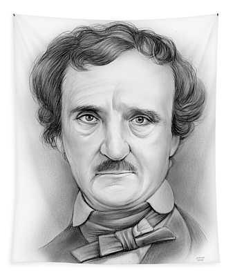 Edgar Allan Poe Tapestry