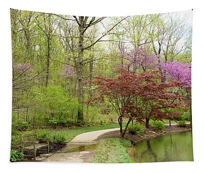 Edith Carrier Arboretum Pathway Tapestry