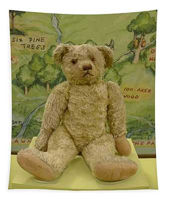 Edward Bear - The Original  Winnie The Pooh Tapestry