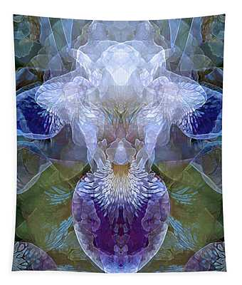 Efflorescence In Blue Tapestry