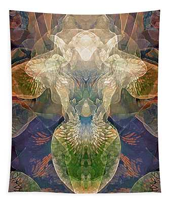 Efflorescence In Rainbow Tones Tapestry