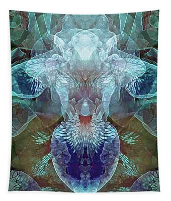Efflorescence In Turquoise Tapestry
