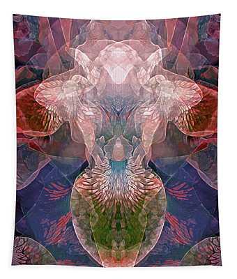 Efflorescence In Violet Tones Tapestry