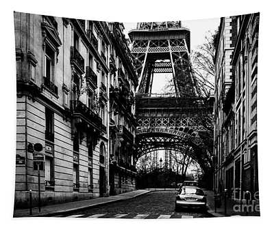 Tapestry featuring the photograph Eiffel Tower - Classic View by Miles Whittingham