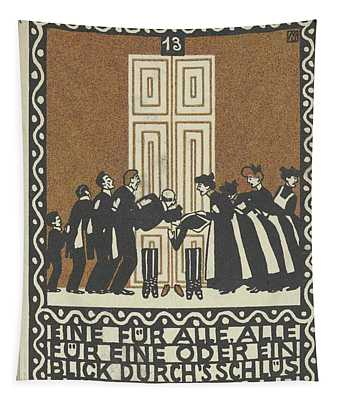 One For All, All For One Tapestry