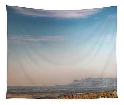 Guadalupe Mountains From A Distance Tapestry