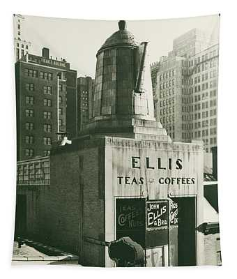 Ellis Tea And Coffee Store, 1945 Tapestry