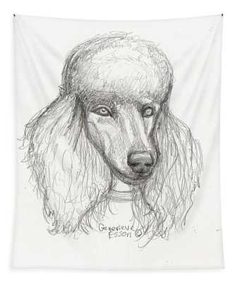 Sketch Of Elsie Tapestry