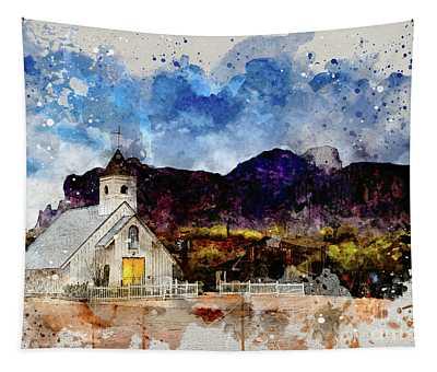 Elvis Chapel Tapestry