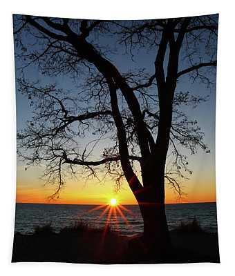 Empire Beach Sunset Tapestry