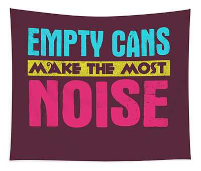 Empty Cans Tapestry