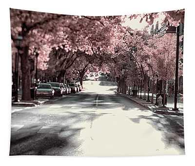 Empty Street Tapestry