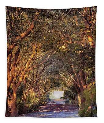 Enchanted Pathway Tapestry