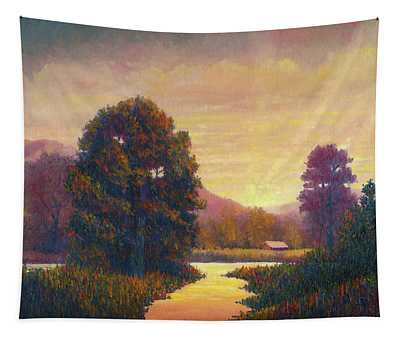End Of Day Tapestry