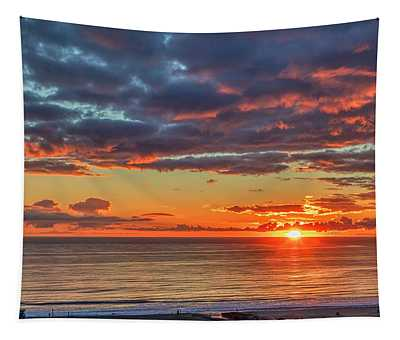 End Of Day Light Show Tapestry