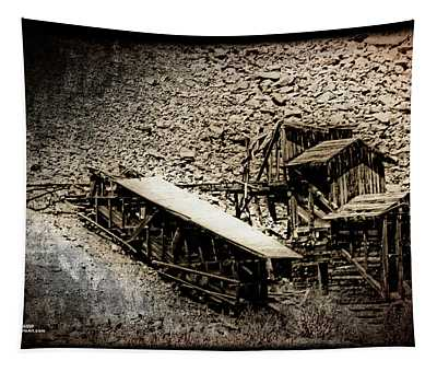 End Of The Line Mine Tapestry