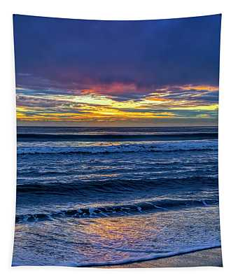 Entering The Blue Hour Tapestry