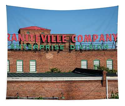 Enterprise Mill - Graniteville Company - Augusta Ga 1 Tapestry