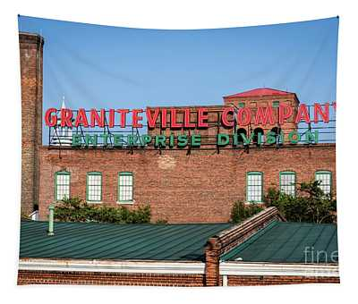Enterprise Mill - Graniteville Company - Augusta Ga 2 Tapestry