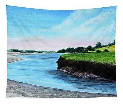Essex River South Ipswich Tapestry
