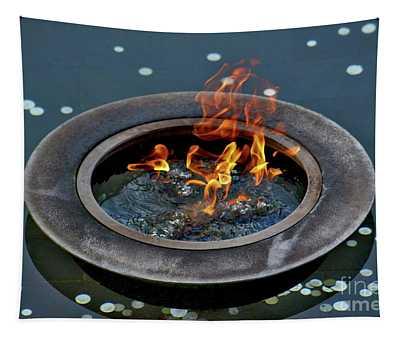 Eternal Flame Tapestry