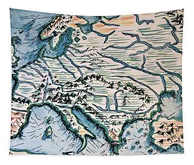 Europe 1932 Tapestry