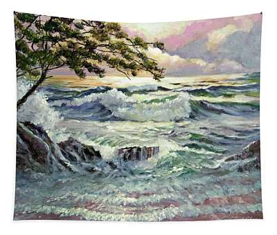 Evening Beach Tapestry