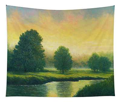Evening Glow Tapestry
