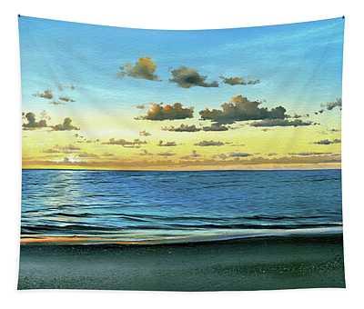Evening Light  Tapestry