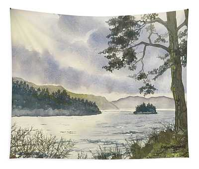 Evening On Derwentwater Tapestry