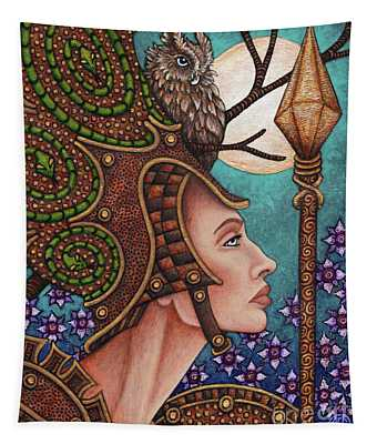 Exalted Beauty Athena Tapestry