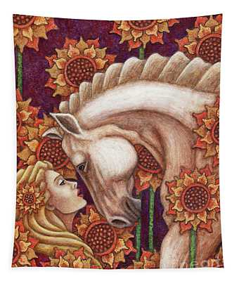 Exalted Beauty Morgan Tapestry
