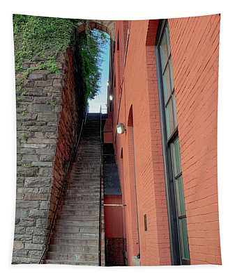 Exorcist Stairs Beauty Tapestry