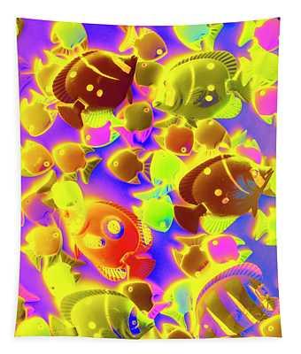 Exotic Tropics Tapestry