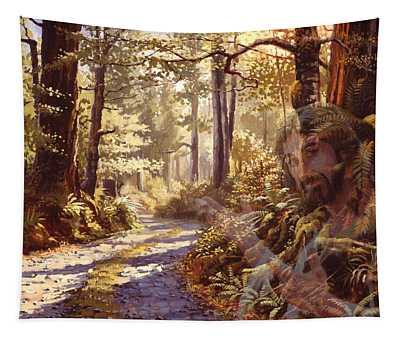 Explore With Me Tapestry