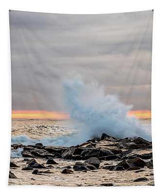 Explosive Sea 3 Tapestry