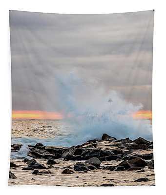 Explosive Sea 4 Tapestry