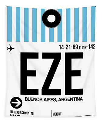 Eze Buenos Aires Luggage Tag I Tapestry
