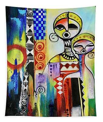Facing Darkness Tapestry