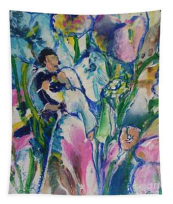 Fairest Among The Lilies Tapestry