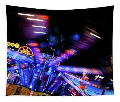 Fairground Abstract Vii Tapestry