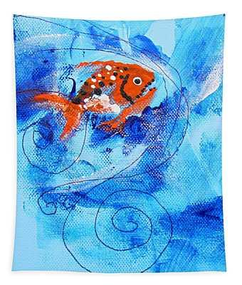 Fake Nemo Fish Tapestry