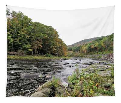 Fall In The Beaverkill Valley Tapestry