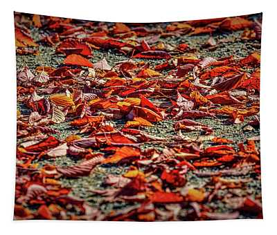 Fall Leaves #i0 Tapestry