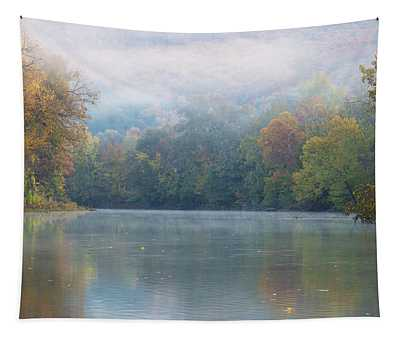 Fall On Richland Creek Tapestry