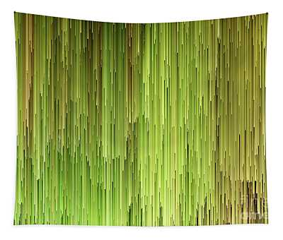 Falling Green Tapestry