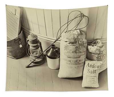Farmhouse Flour Salt And Sugar Tapestry