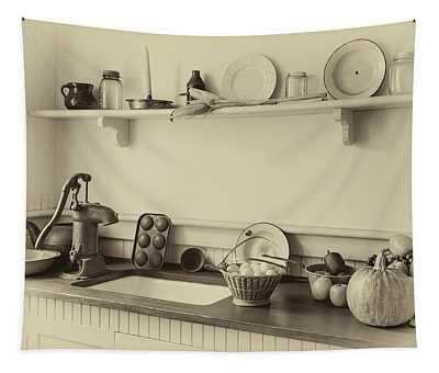 Farmhouse Kitchen Tapestry